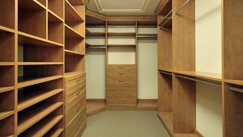 Custom built in closets cabinets in toronto walk in Walk in bedroom closets