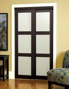 mirror and panel door